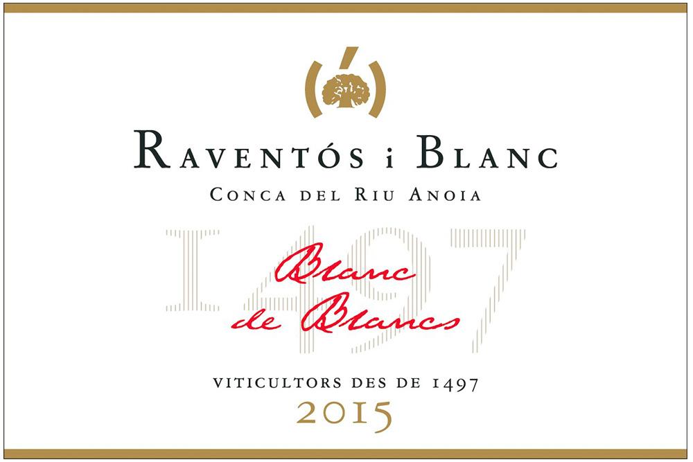 Label Blanc de Blancs 2015